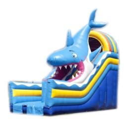 """Toboggan gonflable """"Requin"""" n°47A"""
