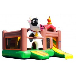 """Playground gonflable """"Ferme"""" n°35J"""