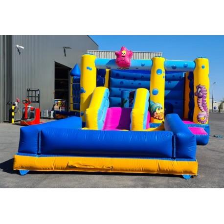 Playground gonflable PLAGE aqua